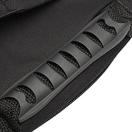kenthia doble correas funda blanda de bajo el/éctrico bolsa de transporte acolchada mochila para 41/42 Bass