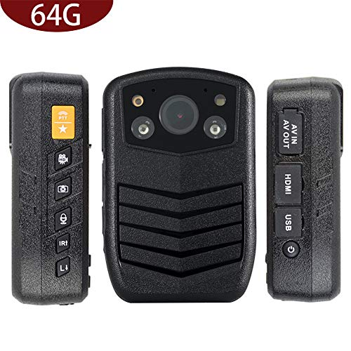 Meknic Q3 2K High Definition Portable Security Guards 64G Body Camera, Police Body Worn Mounted Camera Good Night Vision with 2'' Display for Law Enforcement, Police Officers,Security Companies (64GB) by MEKNIC (Image #8)