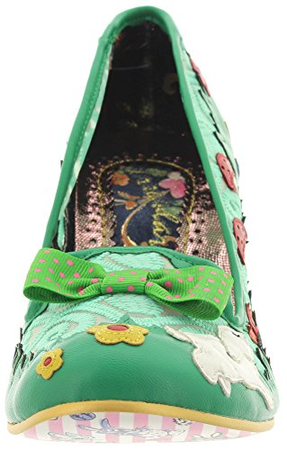 Irregular Choice Bunny Journey - Tacones Mujer Verde