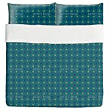 Firmament Duvet Bed Set 3 Piece Set Duvet Cover - 2 Pillow Shams - Luxury Microfiber, Soft, Breathable