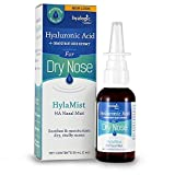 Hyalogic HylaMist - Hyaluronic Acid Nasal Mist - Soothes Dry Nose - Moisturizes Stuffy Nose - Contains Grapefruit Seed Extract With Antioxidant Properties - 2 oz
