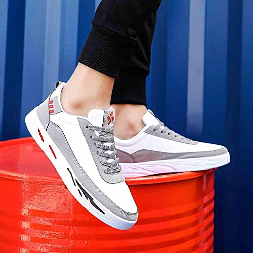 Homme Sneakers Homme Gris Baskets Frenchenal Basses Classic BST7xa