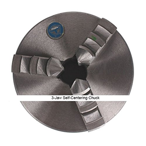 100mm Series Cylinder Center Mounting 3-Jaw Self-Centering Chuck for CNC Lathe - Series Cylinder