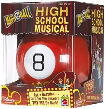 Magic 8 Ball: High School Musical: Amazon.es: Juguetes y juegos