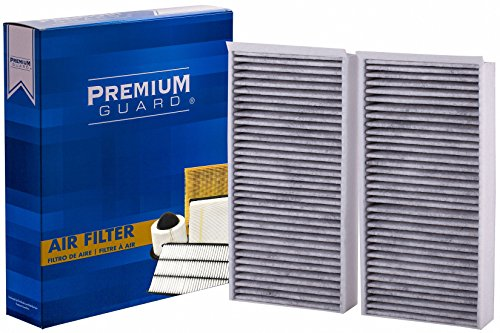 Premium Guard Cabin Air Filter PC9976 | Fits 2014-2018 Mini Cooper, 2016-2018 Mini Cooper Clubman, 2017-2018 Mini Cooper Countryman, 2014-2018 BMW i3, 2016-2018 BMW X1