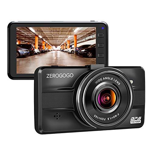 "Zerogogo R1 Dash Cam FHD 1080P Car Driving Recorder with GPS, 3"" IPS Screen, Parking Guard, G-Sensor, WDR, Night Vision, w/Sony Exmor Sensor, Motion Detection, Metal Shell Dashcams for Cars KAILUKE (ShenZhen) Technology Co., Ltd"