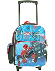 Marvel the Amazing Spiderman Toddler 12 Rolling Backpack