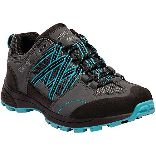 Regatta Womens/Ladies Samaris Low Waterproof Seam Sealed Walking Shoes Briar/AzureB
