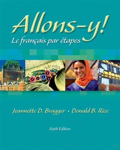 Allons-y! Le Français par étapes (with Audio CD)
