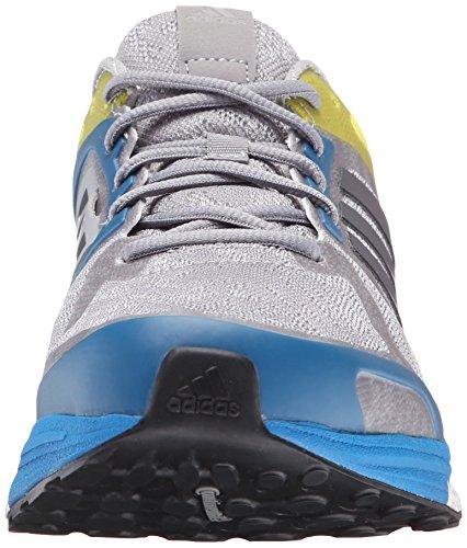 Adidas Performance Mens Supernova Séquence 9 M Chaussure De Course Moyen Gris Utilitaire Bleu Unité Bleu Tissu