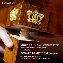 Mozart: Piano Concertos Nos. 8, 11 & 13