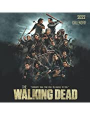 2022 Calendar: The Walking Dead - 6 months bonus with large grid for scheduling and organizing