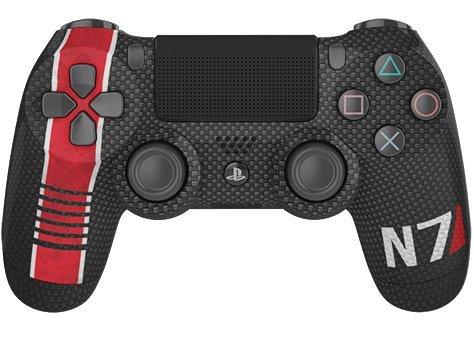 PS4 Wireless Custom Controller - Controller Chaos - N7 Carbon