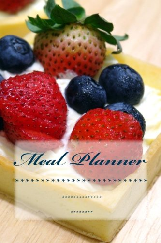 Meal Planner: Weekly Menu Planner with Shopping List and Bonus Blank Recipe Templates (Menu Planner, Meal Planner, Journal, Food Journal)