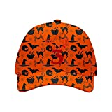 FKDBLZY Stran-ger Thin-gs 3 Halloween Hat Adjustable Baseball Cap Unisex Orange