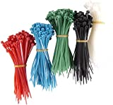 Power Gear Cable Ties, Nylon, Assorted Sizes, 1000pc, 50724
