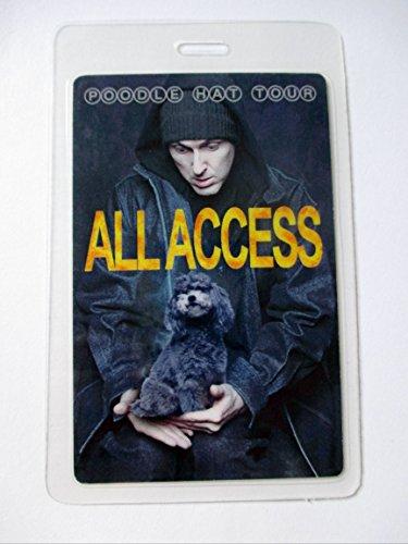 Weird Al Laminated Backstage Pass Poodle Hat Tour All Access Poodle Dvd