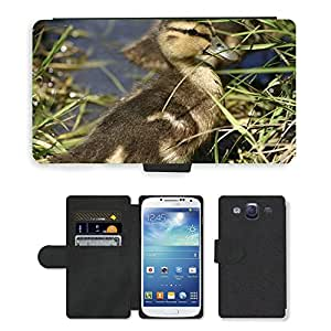 Hot Style Cell Phone Card Slot PU Leather Wallet Case // M00111254 Duckling Duck Baby Duck Baby Bird // Samsung Galaxy S3 S III SIII i9300