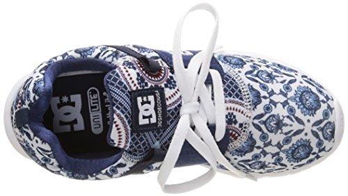 DC Shoes Heathrow Se J - Zapatillas de Deporte Mujer Multicolor - Multicolore (Blue Print)