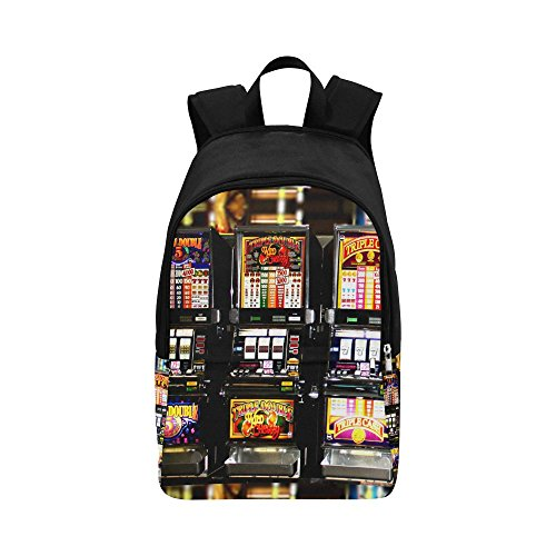 Lucky Slots Handbag - InterestPrint Lucky Slot Machines - Dream Machines Casual Shoulders Backpack Travel Bag School Backpacks