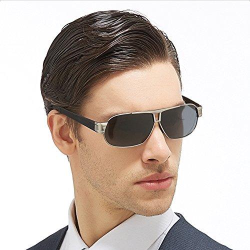 SEEKSUNG® aire libre hombre de para deportes para con de Gafas metal polarizador espejo al sol r1qprY