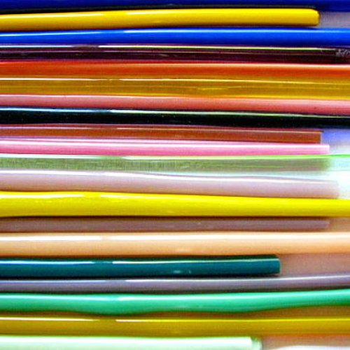 Devardi Glass 12 Lbs, Lampwork, Beadmaking Glass Rods, COE 104 Sampler