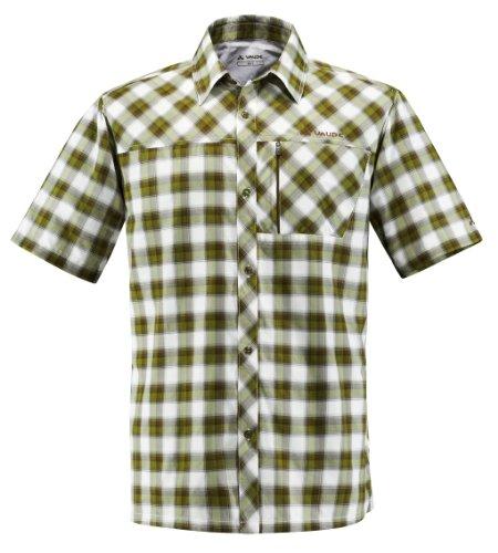 Vaude Shirt BURREN. Herrenhemd. Outdoor, Freizeit, Wandern. Superschön und schadstofffrei. Green. Gr. 48