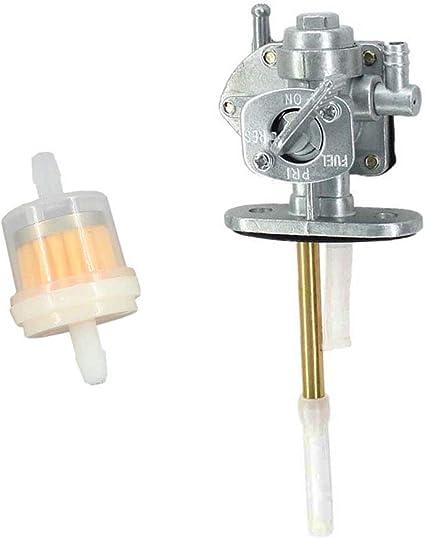Kraftstoffhahn Benzinhahn passend für KAWASAKI Zephyr ZR550 ZR750 ZR1100 KLR650