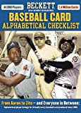 Beckett Baseball Card Alphabetical Checklist 2006, James Beckett, 1930692501