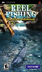 Reel Fishing: The Great Outdoors - PlayStation Portable