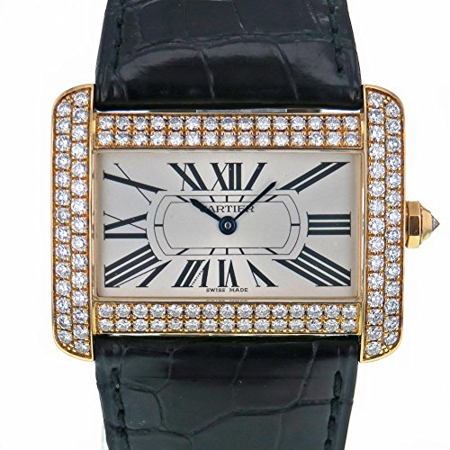 Cartier Tank Divan swiss-quartz womens Watch 2602 (Certified Pre-owned)