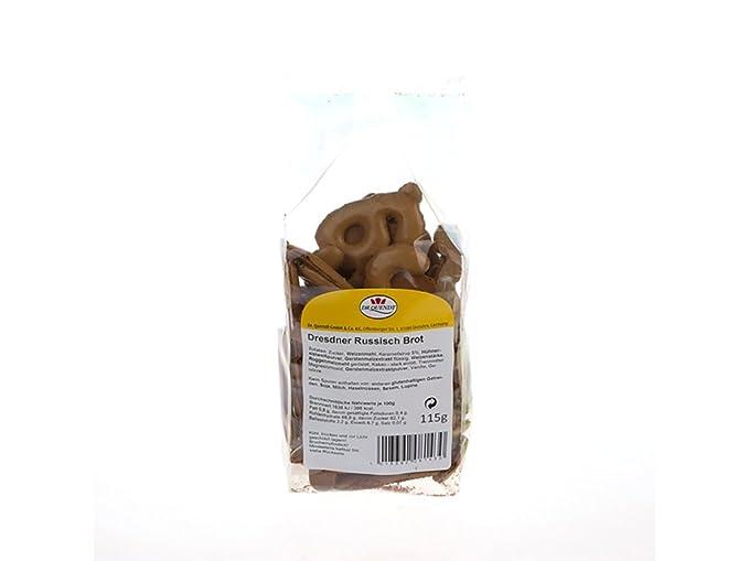 Dr. Quendt - Dresdner Russisch Brot - Galletas alemanas - 115 g