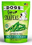 Dogs Love Snapeas Crunchy Dog Treats, Gluten And Wheat Free, Peas And Chicken Flavor, 2.5 Ounce Bag (Case Of 12) Review