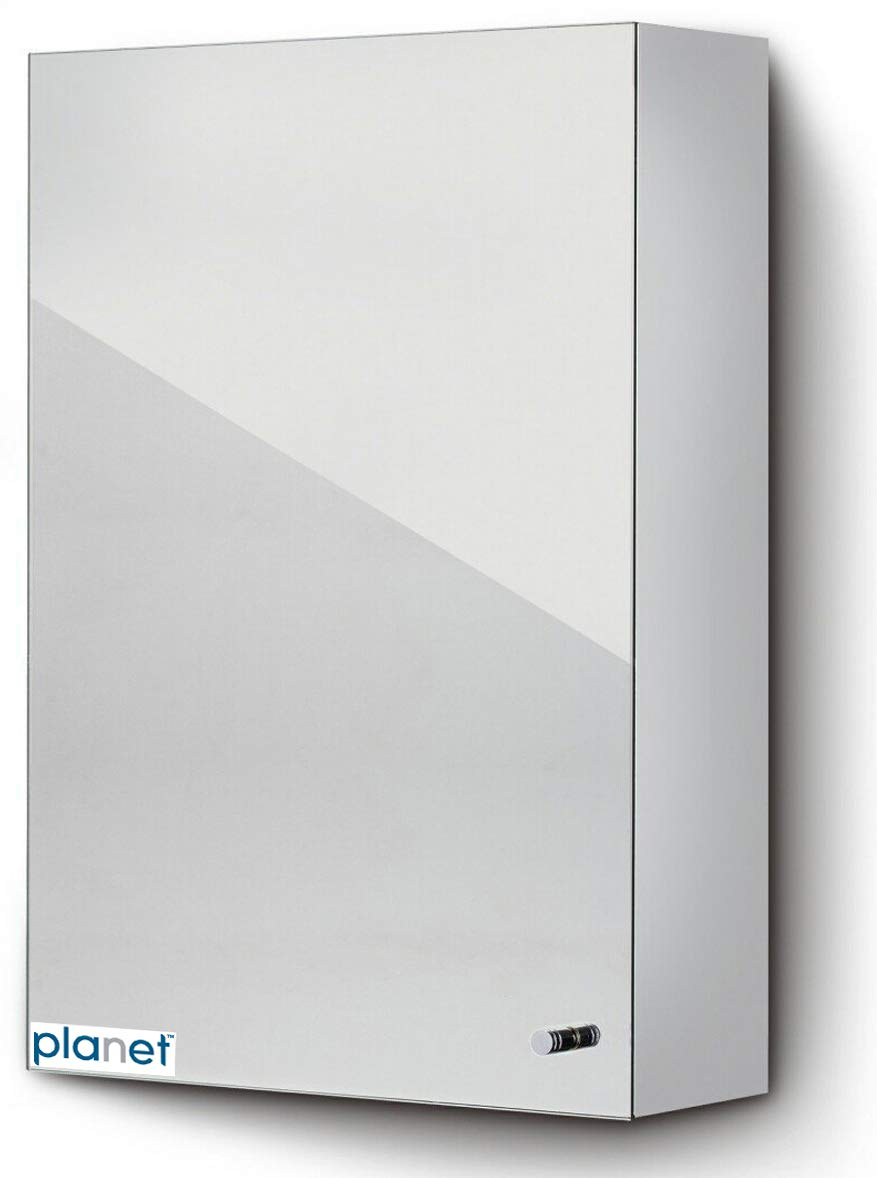Planet Platinum Stainless Steel Bathroom shelves Cabinet
