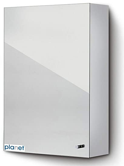 Planet Platinum 304 Grade Stainless Steel Bathroom Cabinet With