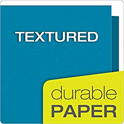 Oxford Twin Pocket Folders with Fasteners, Letter Size, Assorted Colors, 25 per Box (57713)