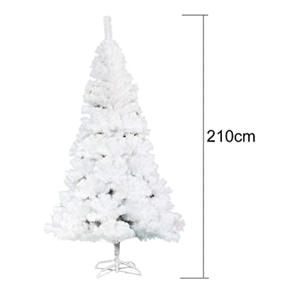 7ft White Christmas Tree Decorative Indoor And Outdoor Christmas