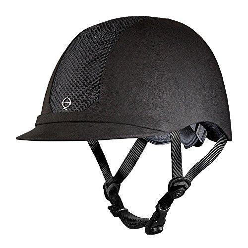 (Troxel ES Helmet, Black, Medium)
