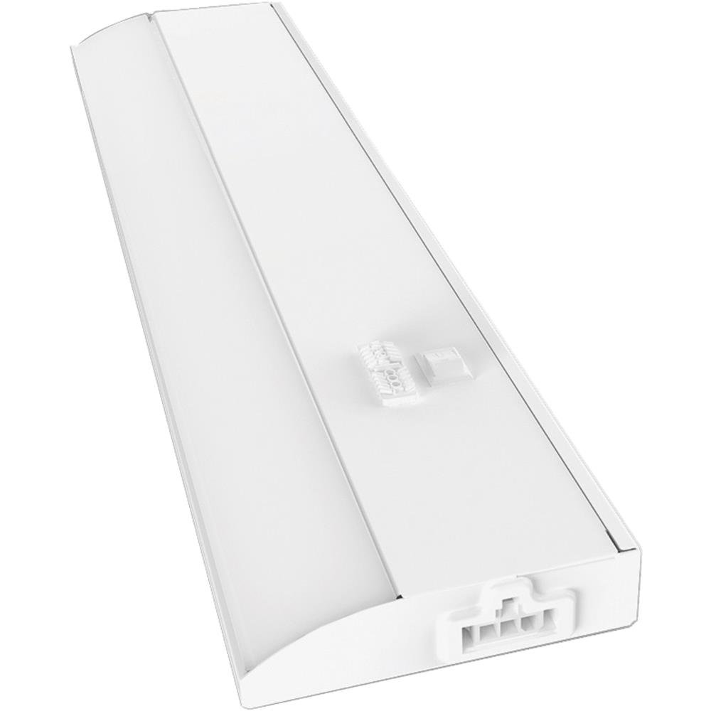 Good Earth Lighting UC1138-WH1-12LF0-G LED Slim Direct Wire Bar, 12'', White