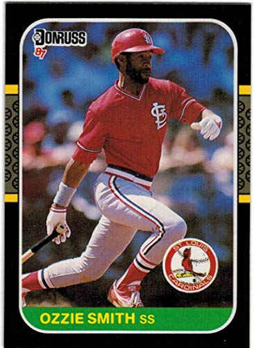 1987 Donruss with The Rookies NL Champion St. Louis Cardinals Team Set with Willie McGee & 2 Ozzie Smith - 28 MLB Cards