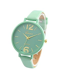 Women Watch, Hotkey Women's Retro Design Analog Alloy Quartz Wrist Watch Unique Business Casual Fashion Watch, Geneva Quartz Watches Casual Wristwatch CS-2020
