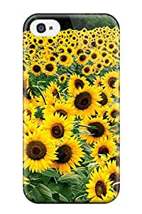 New Flowers S Tpu Skin Case Compatible With Iphone 4/4s