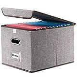 Prandom File Organizer Box - Set of 1 Collapsible