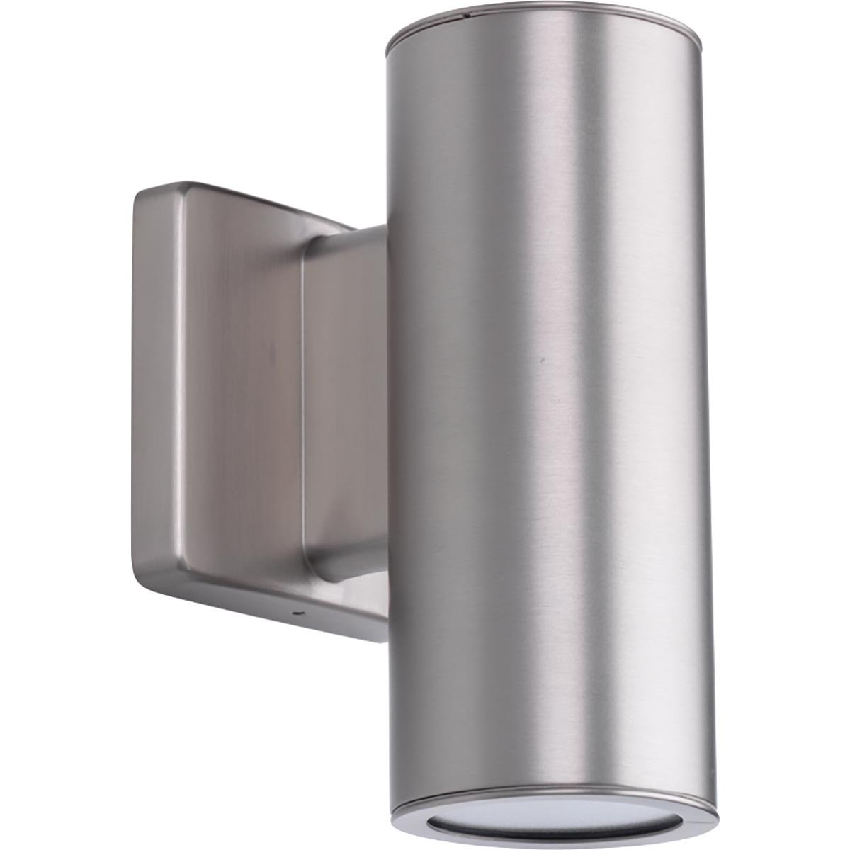Progress Lighting P563001-147-30K 3IN Cylinders Wall Lantern, Grey