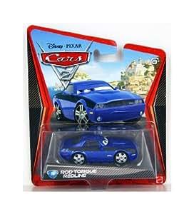 Cars 2 minicar 16 Rod torque red line 6644i [Disney CARS2 die cast Mattel toy import US] (japan import)