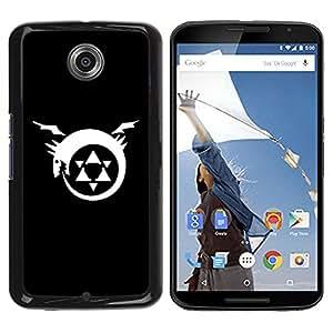Be Good Phone Accessory // Dura Cáscara cubierta Protectora Caso Carcasa Funda de Protección para Motorola NEXUS 6 / X / Moto X Pro // Triforce Dragon