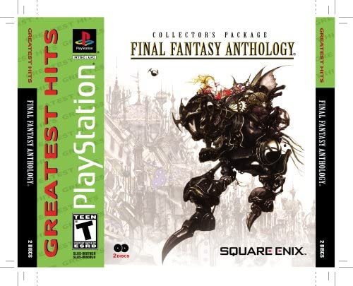 Amazon.com: Final Fantasy Anthology - PlayStation: Artist ...