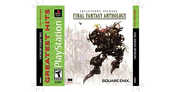 Amazon com: Final Fantasy Anthology - PlayStation: Artist Not