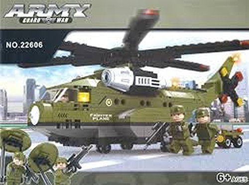 Ausini Army Transport Plane Building Blocks # 22606 452pc Educational Blocks Set Compatible to Lego Parts - Great Gift for Children (Nhl 14 Halloween Pack)