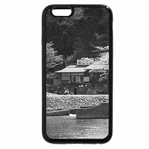 iPhone 6S Plus Case, iPhone 6 Plus Case (Black & White) - A River in Japan